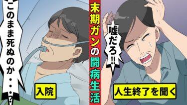 【ミステリー調査団】末期がんになった男の闘病生活を漫画にした【漫画動画】